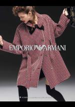 Promos et remises  : Catalogue femme Emporio Armani automne hiver 2016