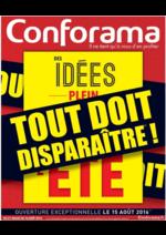 Prospectus Conforama : Tout doit disparaître !