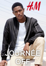 Catalogues et collections H&M : Lookbook homme Journée off