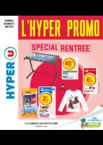 Prospectus Hyper U : Spécial rentrée