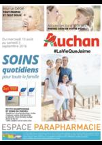 Prospectus Auchan : Soins quotidiens pour la famille