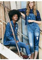 Catalogues et collections Jennyfer : La sélection Denim story
