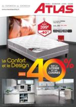 Prospectus Atlas : Le confort et le design jusqu'à -40%