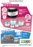 Prospectus Supermarchés Match Saint-Avold : Tout pour votre maison