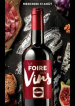 Promos et remises  : La Foire aux vins LIDL !