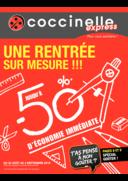 Prospectus Coccinelle Express PARIS : Une rentrée sur mesure !!!