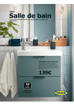 Catalogues et collections IKEA : Catalogue 2017 Salle de bain
