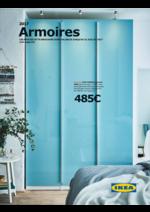 Promos et remises  : Catalogue 2017 Armoires