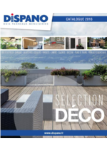 Catalogues et collections Dispano : Catalogue Sélection Déco 2016