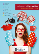 Catalogues et collections E.Leclerc : Collection table & cuisine automne - hiver 2016