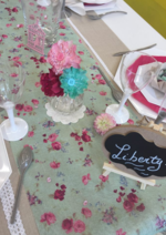Promos et remises  : Table du mercredi : Liberty