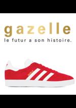 Catalogues et collections chausport : Gazelle, le futur à son histoire