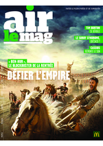 Journaux et magazines Mc Donald's : Air le mag septembre 2016