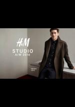 Catalogues et collections H&M : Lookbook Homme H&M Studio automne hiver 2016