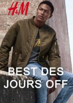 Catalogues et collections H&M : Lookbook homme Best des jours off