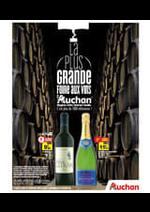 Promos et remises  : La plus grande foire aux vins d'Auchan