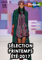 Catalogues et collections Desigual : La sélection printemps été 2017 fashion week