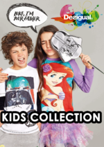 Catalogues et collections Desigual : Le lookbook Kids collection