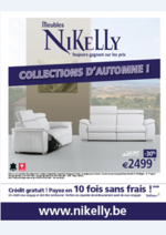 Catalogues et collections Meubles Nikelly : Collection d'Automne
