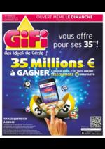 Prospectus Gifi : 35 ans 35 Millions € à gagner !