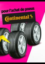 Bons Plans Feu Vert : Jusqu'à 160€ en chèque fidélité pour l'chat de pneus Continental