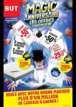 Prospectus BUT : Magic anniversaire les offres continuent