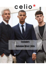Catalogues et collections Celio : Lookbook costumes automne - hiver 2016