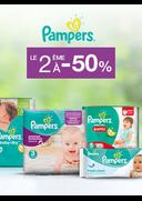 Bons Plans Monoprix AMIENS : Pampers : le 2ème à -50%