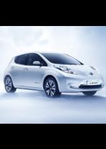 Catalogues et collections Nissan : Optez pour la nouvelle Nissan LEAF !