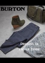 Catalogues et collections Burton : Le dressing de l'hiver Femme