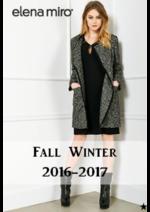 Promoções e descontos  : Coleção outono-inverno 2016