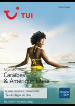 Catalogues et collections Nouvelles frontières : Séjours Caraïbes & Amérique latine