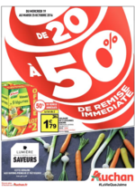 Prospectus Auchan : De 20 à 50 % de remise immédiate