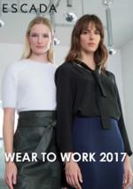 Promos et remises  : Lookbook Wear to work 2017