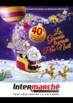 Catalogues et collections Intermarché Super : La grande tournée du Père Noël