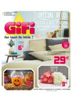 Prospectus Gifi : Collection automne - hiver 2016