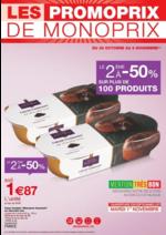Promos et remises  : Les promoprix de Monoprix