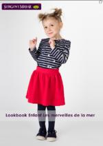 Catalogues et collections Sergent Major : Lookbook enfant Les merveilles de la mer