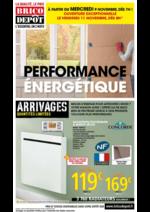 Prospectus Brico Dépôt : Performance énergétique