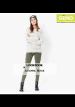 Catalogues et collections Gemo : Lookbook automne-hiver femme