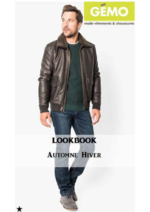 Catalogues et collections Gemo : Lookbook automne-hiver homme