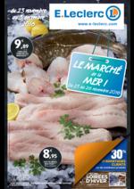 Prospectus E.Leclerc : Le marché de la mer !