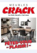 Prospectus Meubles Crack : Fêtes-vous plaisir !