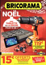 Prospectus Bricorama : Noël, une tablette ou un drone pour 1€ de +