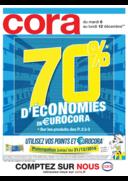 Prospectus Cora FORBACH : 70% d'économies en €urocora