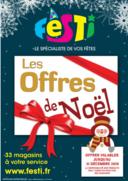 Promos et remises FESTI FRESNES : OFFRES DE NOEL FESTI