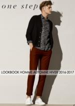 Promos et remises  : Lookbook homme automne hiver 2016-2017