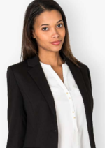 Promos et remises  : Le blazer uni à manches longues à 29,99€