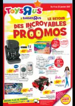 Prospectus Toys R Us : Le retour des incroyables promos