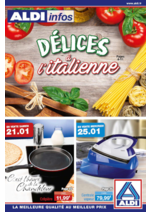 Prospectus Aldi : Délices à l'italienne